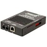 Transition 10 100 1000Base-T to 1000Base-X SM SC 10K Media Converter, SGFEB1014-130-NA, 18177550, Network Transceivers