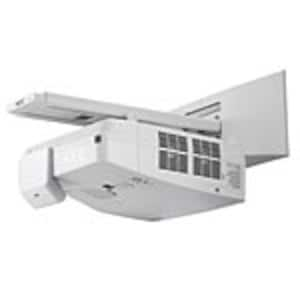 Open Box NEC UM361X Ultra Short Throw LCD Projector, 3600 Lumens, White with Wall Mount, NP-UM361X-WK, 37694536, Projectors