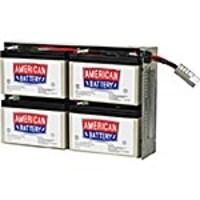 American Battery 12V 9Ah Replacement Battery Cartridge RBC24, RBC24, 18321013, Batteries - UPS