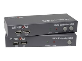 Tripp Lite Minicom Smart KVM Extended USB with Local Port & Receiver, 2-Port KVM, 0DT60001, 14427558, KVM Displays & Accessories