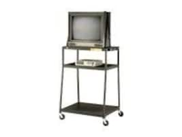 Bretford Manufacturing Wide Body TV Cart 44h for TVs up to 27 with Electrical Unit (2 outlets), BB44-E4, 4958881, Furniture - Miscellaneous