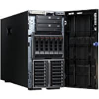 Open Box Lenovo System x3500 M5 Tower Xeon E5-2609 v3 1.9GHz 8GB 6x3.5 HS Bays M1215 DVD 4xPCIe 4xGbE 550W, 5464EAU, 33732734, Servers
