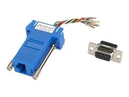 Black Box DB-9 Colored Modular Adapter (Not assembled), FA4509F-BL, 32874511, Network Adapters & NICs