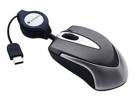 Verbatim Mini Optical Travel Mouse, 99235, 32042483, Mice & Cursor Control Devices