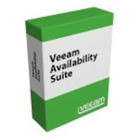 Veeam Corp. Availability Suite Enterprise Plus for VMware New License, V-VASPLS-VS-P0000-00, 18604371, Software - Virtualization