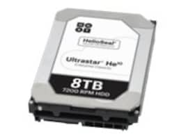 HGST 8TB UltraStar He10 SAS 12Gb s 512e ISE 3.5 Internal Hard Drive, 0F27356, 31747131, Hard Drives - Internal