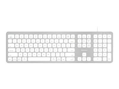 Macally USB KEYB W  2PORT USB BUSHED   ACCSMETAL TOP FOR MAC, WKEYHUBMB, 37513619, Keyboards & Keypads