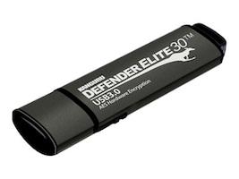 Kanguru™ 128GB Defender Elite Encrypted Flash Drive, KDFE30-128G, 17059455, Flash Drives
