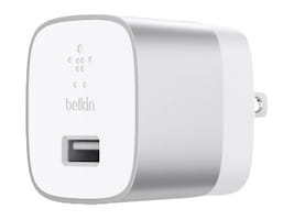 Belkin BOOST UP Quick Charge 3.0 Home Charger w  USB-A to USB-C Cable, F7U034DQ04-SLV, 36696302, Power Cords