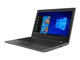 Lenovo 100e Celeron N4000 1.1GHz 4GB 64GB 11.6 HD W10SA, 81M80003US, 36611680, Notebooks