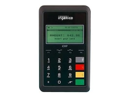Ingenico iCMP EMV Card Reader, 128MB, 32MB RAM, Contactless, MSR, ICM122-USSCN03A, 22072742, POS/Kiosk Systems