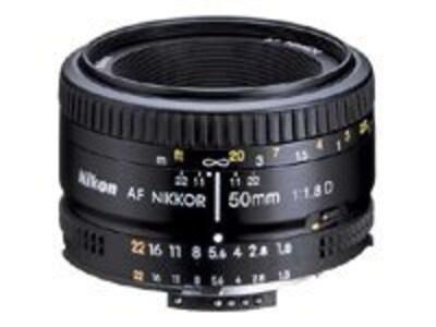 Nikon AF Nikkor 50mm F 1.8D Lens, 2137, 8644951, Camera & Camcorder Lenses & Filters