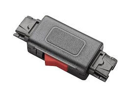 Plantronics In-Line Mute Switch For use with H-series headsets, 27708-01, 131748, Headphone & Headset Accessories