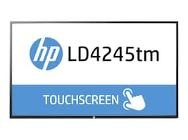 Open Box HP 41.9 LD4245tm Full HD LED-LCD Touchscreen Display, Black, F1M93AA#ABA, 18700179, Monitors - Large Format - Touchscreen/POS