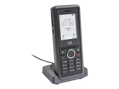 Cisco IP DECT Phone 6825 w Standard Handset, Battery, Cradle, 3PCC, Pwr  Adapter (NA)
