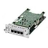 Cisco 4-Port Network I F Module Ear And Mouth, NIM-4E/M, 19508138, Wireless Adapters & NICs