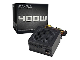 eVGA 400W 30A 12V Power Supply, 100-N1-0400-L1, 17565446, Power Supply Units (internal)