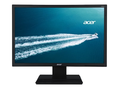 Acer 19.5 V206HQL ABMD LED-LCD Monitor, Black, UM.IV6AA.003, 23407225, Monitors