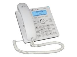 AudioCodes AudioCodes 420HD IP-Phone PoE, White, 2 lines, IP420HDEW, 32831175, VoIP Phones