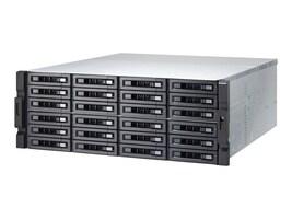 Qnap 24-Bay NAS iSCSI IP SAN 4U SAS 12Gb s SAS SATA 6Gb s 4LAN 10G Storage w  Redundant Power Supply, TVS-EC2480U-SAS-RP-16G-US, 30877719, Network Attached Storage