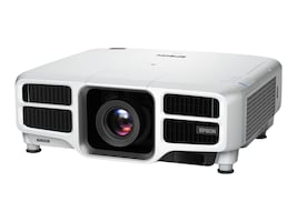 Epson L1750UNL WUXGA 3LCD Projector, 15000 Lumens, White, V11H892920, 34759605, Projectors