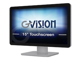 GVision 15.6 D15ZC-AV-K5P0 LED-LCD PCAP Touchscreen Monitor, D15ZC-AV-K5P0, 31881007, Monitors - Touchscreen