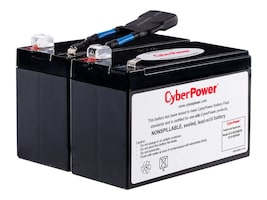 CyberPower REPLACEMENT BATTERY, RB1290X2B, 37097918, Batteries - Other