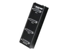 Black Box 3-port Modem Splitter with 6ft cable and AT adapter, TL073A-R4, 388080, Switch Boxes