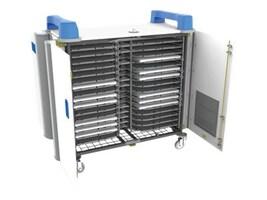 LapCabby 32H 32-Unit Universal Device Cart, Blue, UNICAB32HBL/USA, 31790156, Computer Carts