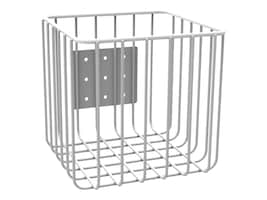 6 x 6 x 6 Left or Right Mount Wire Basket, 51-3591, 16118062, Computer Carts - Medical