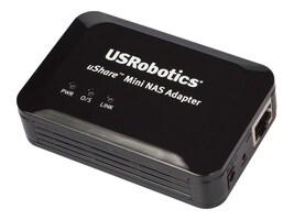 US Robotics USHARE MINI NAS ADAPTER        CTLR, USR8710, 37481400, Network Adapters & NICs