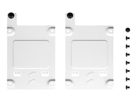 Fractal Design Solid State Drive Brackets - White (2-pack), FD-A-BRKT-002, 38406090, Drive Mounting Hardware