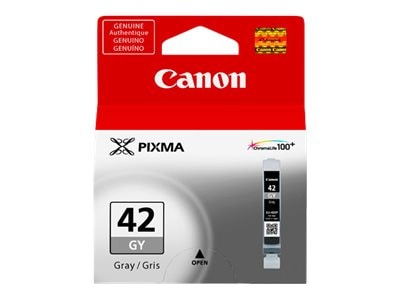 Canon Gray CLI-42GY Ink Tank, 6390B002, 15229692, Ink Cartridges & Ink Refill Kits - OEM