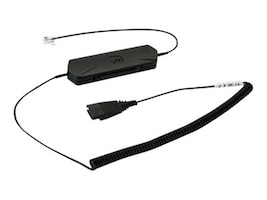 VXi Omnicord-P RJ-9 Lower Cord, 203367, 15460165, Phone Accessories