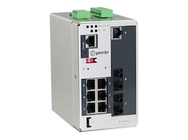 Perle IDS409F2T2SD40XT 7PORT MANAGED PERPSWITCH GE RJ FE ST 2XSM40KM XTMP, 07014840, 33054671, Network Switches