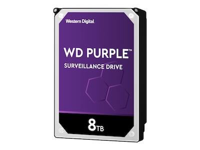 Western Digital 8TB WD Purple SATA 6Gb s AllFrame AI 3.5 Surveillance Hard Drive, WD82PURZ, 37112989, Hard Drives - Internal