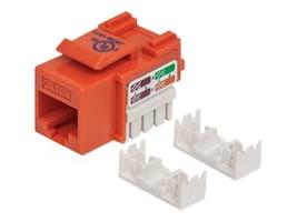 Manhattan Cat5e UTP Keystone Jack, Orange, 210577, 31010720, Cable Accessories