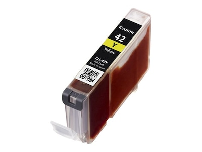 Canon Yellow CLI-42Y Ink Cartridge, 6387B002, 15229799, Ink Cartridges & Ink Refill Kits - OEM