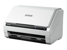 Epson Workforce DS-575W Wireless Color Document Scanner, 35ppm, 600dpi, 50-Sheet ADF, B11B228202, 34266237, Scanners