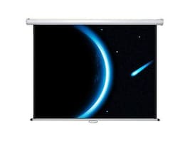Mustang AV Manual Pull-Down Projection Screen, Matte White, 4:3, 100in, SC-M100D4:3, 8121464, Projector Screens