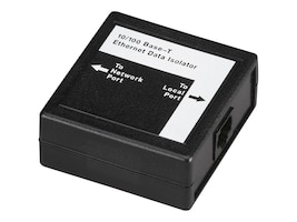 Black Box Ethernet Data Isolator, 10BASE-T 100BASE-TX, SP426A, 11810738, Premise Wiring Equipment