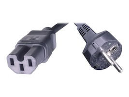 HPE Power Cord C15 to CEE 7-VII, 2.5m, J9945A, 16590711, Power Cords