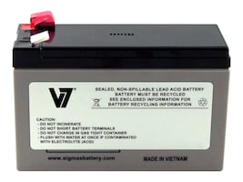 V7 Replacement UPS Battery for APC # RBC17, RBC17-V7, 21483726, Batteries - UPS