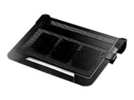 Cooler Master NotePal U3 PLUS Aluminum Cooling Pad, Black, R9-NBC-U3PK-GP, 28826867, Cooling Systems/Fans