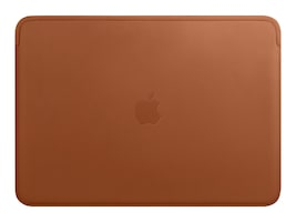 Apple Leather Sleeve for 15 MacBook Pro, Saddle Brown, MRQV2ZM/A, 35875456, Carrying Cases - Notebook