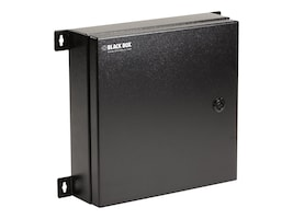 Black Box NEMA 4 Rated Fiber Optic Wallmount Enclosure, 2 Adapter Panels, JPM4001A-R2, 33007663, Mounting Hardware - Miscellaneous