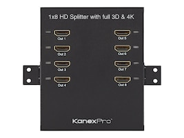 Kanex ProBar 1x8 High Bandwidth HDMI Splitter with 3D Support, HD8PTBSP, 18483602, Video Extenders & Splitters
