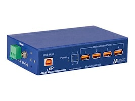 IMC 4-Port USB Up Down Isolated Hub-4KV, UHR304, 16161562, Network Transceivers