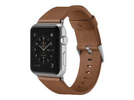 Belkin Classic Leather Band for Apple Watch, 42mm, Tan, F8W732BTC01, 33418788, Wearable Technology