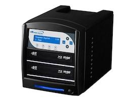 Vinpower SharkBlu Blu-ray DVD CD USB 3.0 1:2 Duplicator w  Hard Drive, SHARKBLU-S2T-BK, 15128816, Disc Duplicators